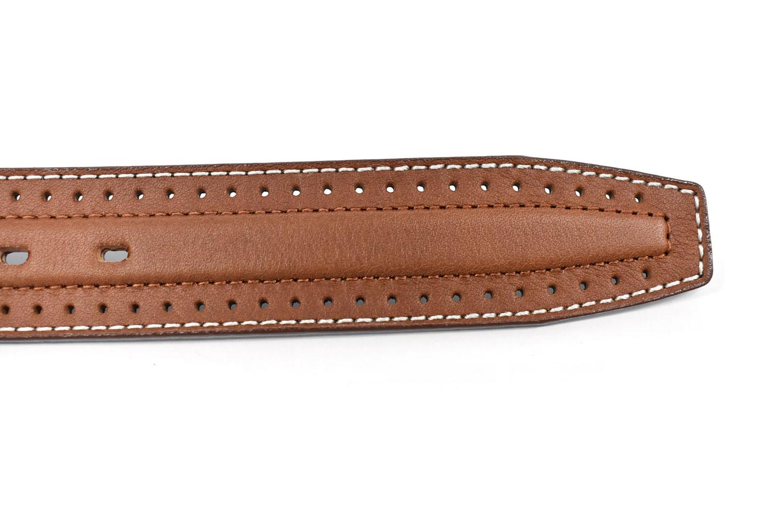 牛革パンチングカジュアルベルト 「ゴールドファイル」 GB61410 商品特徴
