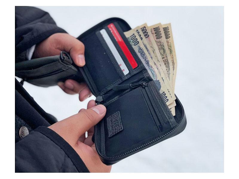 ACTIVE(アクティブ) アウトドアラウンドファスナー二つ折り財布 「プレリー1957」 NP00210 商品特徴