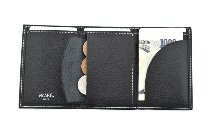 PRESSo pique(プレッソ ピケ) コンパクト財布 「プレリーギンザ」 NP70110 使用イメージ