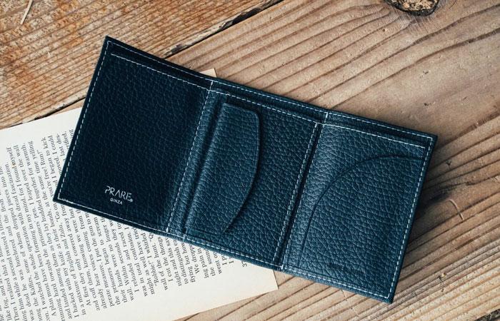 PRESSo pique(プレッソ ピケ) コンパクト財布 「プレリーギンザ」 NP70110 内作り