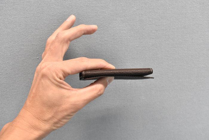 PRESSo pique(プレッソ ピケ) コンパクト財布 「プレリーギンザ」 NP70110 極薄
