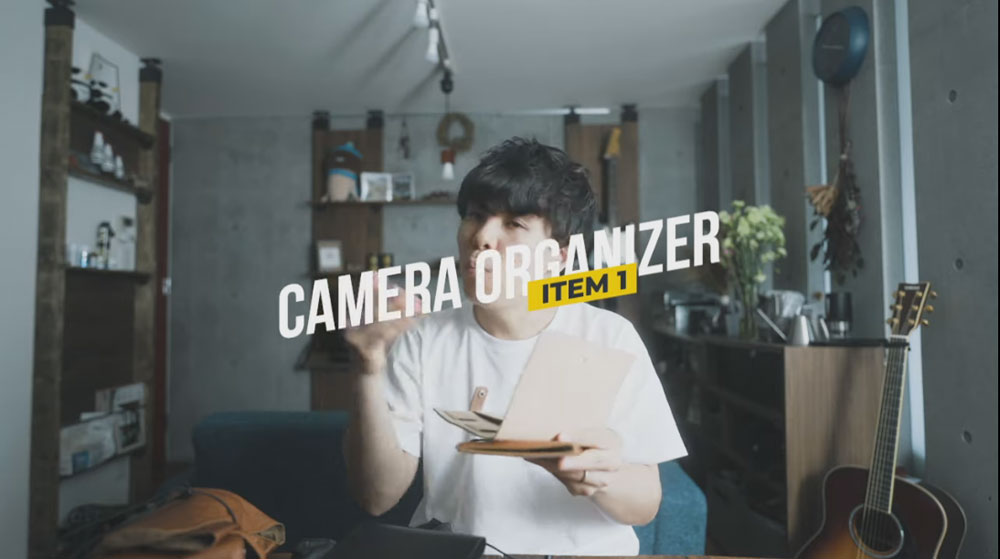カメラオーガナイザー 高澤けーすけ 「プレリーギンザ」 NP71113 youtube画像