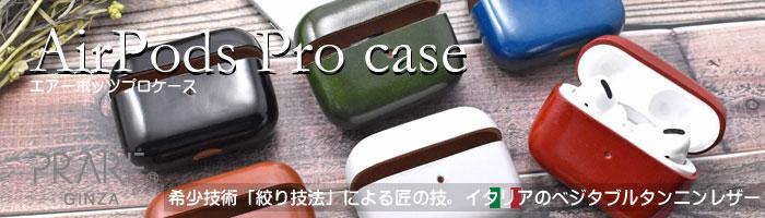 AirPods Pro Leathercase KICS(エアーポッツプロ レザーケース) 「プレリーギンザ」 NP71398 タイトル画像
