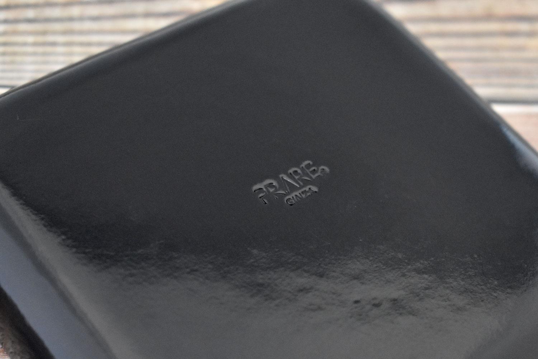 Artigiano(アルチジャーノ)牛革トレー正方形 「プレリーギンザ」 NP72013 商品特徴