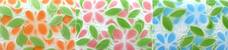 プリムラ「ル・プレリーギンザ」 花柄