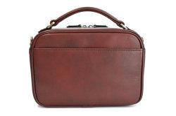オックスフォード レザーメンズバッグ 「ゴールドファイル」 901109 バーガンディ 背面