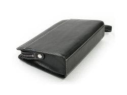 オックスフォード クラッチバッグ セカンドバッグ 「ゴールドファイル」 901201 ブラック 背面・底面