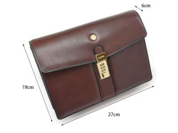 オックスフォード クラッチバッグ セカンドバッグ 「ゴールドファイル」 901205 サイズ
