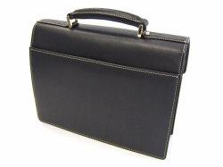 オックスフォード B5コンパクトビジネスバッグ 「ゴールドファイル」 901501 ブラック 背面
