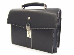 オックスフォード B5コンパクトビジネスバッグ 「ゴールドファイル」 901501 ブラック 正面