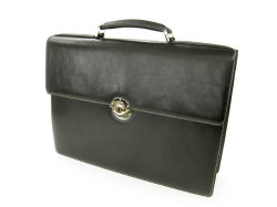 オックスフォード ビジネスバッグ 「ゴールドファイル」 901503 ブラック 正面