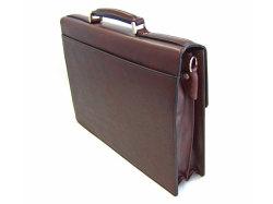 オックスフォード ビジネスバッグ 「ゴールドファイル」 901503 バーガンディ 背面