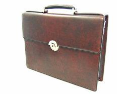 オックスフォード ビジネスバッグ 「ゴールドファイル」 901503 バーガンディ 正面