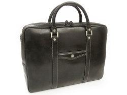 オックスフォード B4ビジネスバッグ 「ゴールドファイル」 901504 ブラック 正面