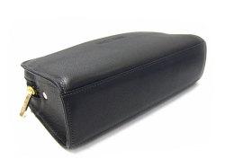 オリジン セカンドバッグ 「ゴールドファイル」 GA18125 ブラック 底面