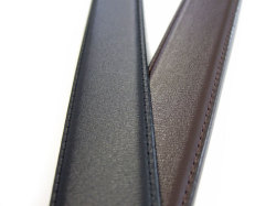 CROWN(クラウン) フランスボックスカーフレザー 30mm幅 ピン式 ベルト 「ゴールドファイル」 GB59915 特徴