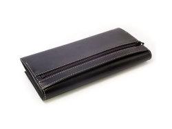 オックスフォード コンパクト長財布(小銭入れあり) 「ゴールドファイル」 GP10220 ブラック 裏面
