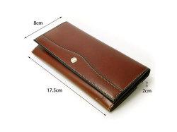 オックスフォード コンパクト長財布(小銭入れあり) 「ゴールドファイル」 GP10220 サイズ