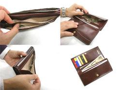 オックスフォード コンパクト長財布(小銭入れあり) 「ゴールドファイル」 GP10220 イメージ画像