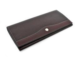 オックスフォード 長財布(小銭入れあり) 「ゴールドファイル」 GP11923 バーガンディ 正面