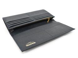 オックスフォード 長財布(小銭入れあり) 「ゴールドファイル」 GP11923 ネイビー 内作り