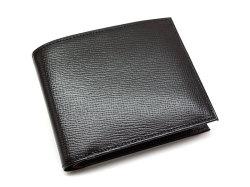 ヘリテージ 二つ折り財布(小銭入れあり) 「ゴールドファイル」 GP23120 クロ 正面