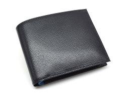ヘリテージ 二つ折り財布(小銭入れあり) 「ゴールドファイル」 GP23120 ネイビー 正面