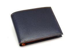 ヘリテージ 二つ折り財布(小銭入れあり) 「ゴールドファイル」 GP23120 オレンジ 正面