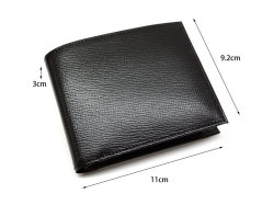 ヘリテージ 二つ折り財布(小銭入れあり) 「ゴールドファイル」 GP23120 サイズ