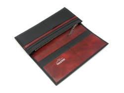 Superior(スペリオール) 長財布(小銭入れあり) 「ゴールドファイル」 GP24118 ブラック 内作り