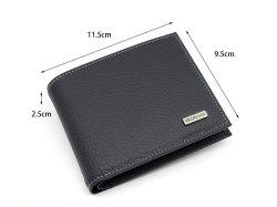 Superior(スペリオール) 二つ折り財布(小銭入れあり) 「ゴールドファイル」 GP24217 サイズ