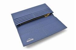 フリードリヒ 長財布(小銭入れあり) 「ゴールドファイル」 GP26030 ブルー 内作り