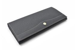 フリードリヒ 長財布(小銭入れあり) 「ゴールドファイル」 GP26030 ネイビー 正面