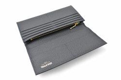 フリードリヒ 長財布(小銭入れあり) 「ゴールドファイル」 GP26030 ネイビー 内作り