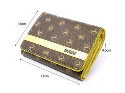 Signature(シグネチャー) 二つ折り財布(小銭入れあり) 「ゴールドファイル」 GP34213 サイズ