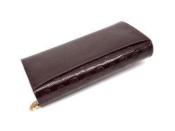モノグラム 長財布 「ゴールドファイル」 GP36015 バーガンディ 裏面