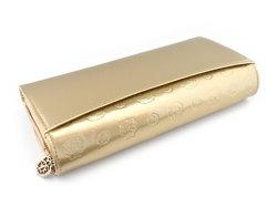 モノグラム 長財布 「ゴールドファイル」 GP36015 ゴールド 裏面