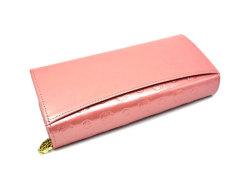 モノグラム 長財布 「ゴールドファイル」 GP36015 ピンク 裏面