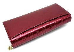モノグラム 長財布 「ゴールドファイル」 GP36015 ワイン 裏面