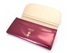 モノグラム 長財布 「ゴールドファイル」 GP36015 ワイン 内作り