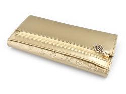 モノグラム コンパクト長財布 「ゴールドファイル」 GP36210 ゴールド 裏面