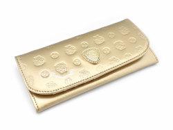 モノグラム コンパクト長財布 「ゴールドファイル」 GP36210 ゴールド 正面