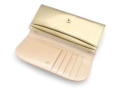 モノグラム コンパクト長財布 「ゴールドファイル」 GP36210 ゴールド 内作り