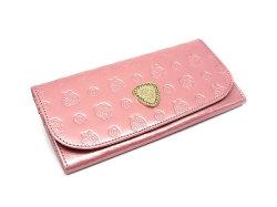 モノグラム コンパクト長財布 「ゴールドファイル」 GP36210 ピンク 正面