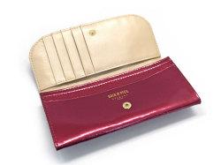 モノグラム コンパクト長財布 「ゴールドファイル」 GP36210 ワイン 内作り