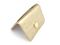 モノグラム 二つ折り財布パスケース  「ゴールドファイル」 GP36465 ゴールド 特徴
