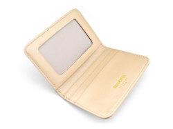 モノグラム 二つ折り財布パスケース  「ゴールドファイル」 GP36465 ゴールド 内作り