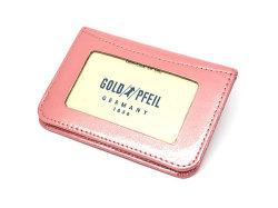 モノグラム 二つ折り財布パスケース  「ゴールドファイル」 GP36465 ピンク 裏面