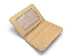 モノグラム 二つ折り財布パスケース  「ゴールドファイル」 GP36465 ピンク 内作り