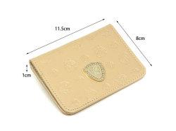 モノグラム 二つ折り財布パスケース  「ゴールドファイル」 GP36465 サイズ